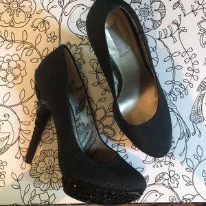 Rachel Roy studded stilettos 👠